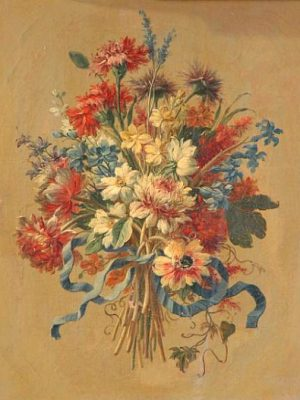Anonymous-(Florence)-Bouquet-of-Flowers-17th-century