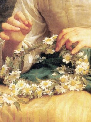 Child-Braiding-A-Crown-(detail)-1874,William-Adolphe-Bouguereau